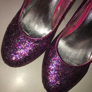 Shoes - Glittery Pink Heels